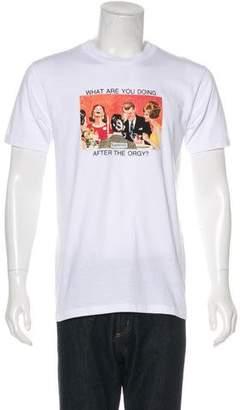 Supreme 2017 Orgy T-Shirt