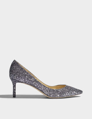 Jimmy Choo Romy 60 star glitter pumps