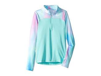 Nike Pro Warm Long Sleeve 1/2 Zip Top (Little Kids/Big Kids)