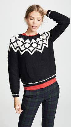 Velvet Robyn Fair Isle Sweater