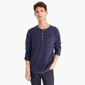 J.Crew Beach thermal raglan-sleeve henley