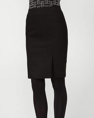Le Château Wool Blend Pencil Skirt