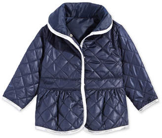 First Impressions Baby Girls Quilted Barn Jacket
