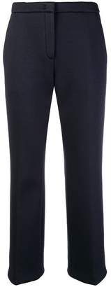 No.21 cropped slim-fit trousers