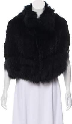Knitted Fur Vest