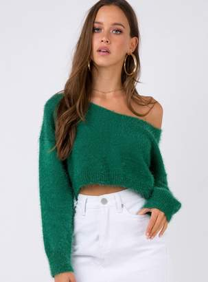 Trixie Cropped Knit Jumper
