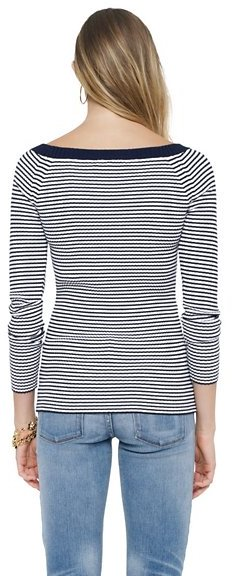 Juicy Couture Stripe Ribbed Pullover
