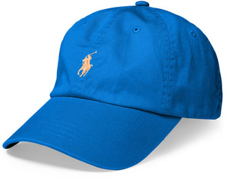 Polo Ralph Lauren Men's Classic Cotton Chino Sports Cap $39.50 thestylecure.com