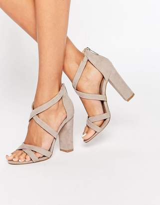 Miss KG Sian Strappy Block Heeled Sandals