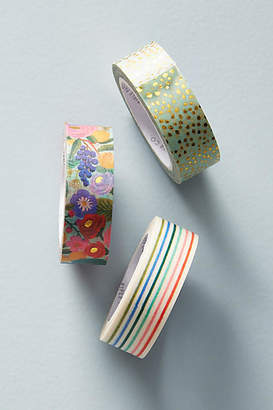 Rifle Paper Co. Patterned Tapes, Set of 3