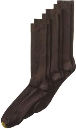 Gold Toe Men's Metropolitan Extended Sock, 3 Pack