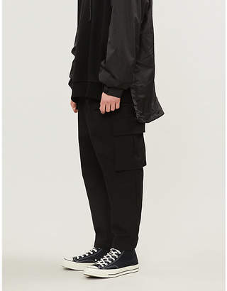 Juun.J JUUN J Belted relaxed-fit cotton trousers