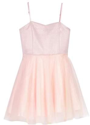 Un Deux Trois Iridescent Tulle Dress