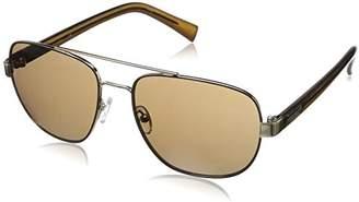 Calvin Klein Men's R357S Aviator Sunglasses