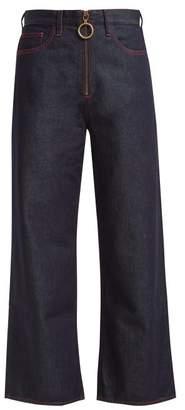 MiH Jeans Caron High Rise Wide Leg Jeans - Womens - Indigo