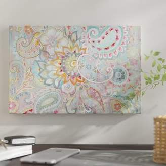 East Urban Home 'Boho Japonais' Graphic Art Print on Wrapped Canvas