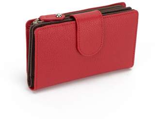 Soprano Handbags Wellington Two-Tone Leather Medium Wallet