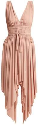 Norma Kamali Goddess knee-length dress