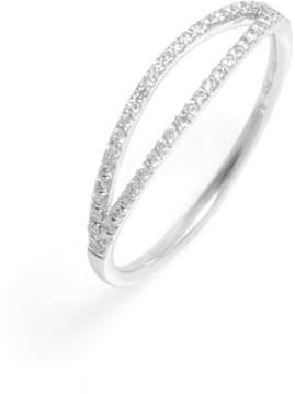 Bony Levy Kiera Two-Row Diamond Stack Ring