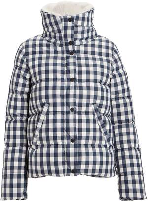 SAM. Wyatt Gingham Puffer Jacket