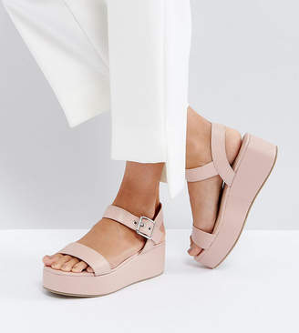 Asos DESIGN TOUCAN Wedge Sandals