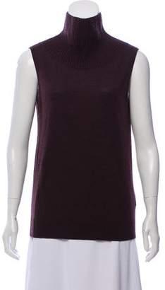 AllSaints Sleeveless Wool Turtleneck Sweater