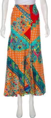 Ralph Lauren Printed Maxi Skirt