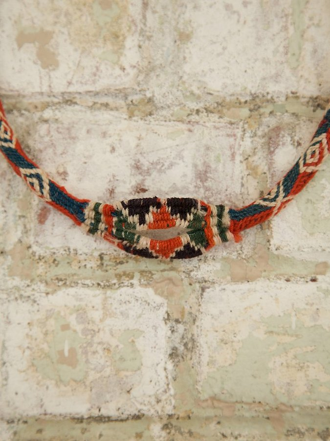 Free People Vintage Hand Woven Necklace