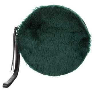 MM6 MAISON MARGIELA Faux Fur Zip Clutch