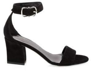 Kate Spade Susane Suede Ankle-Strap Heels