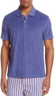 The Men's Store at Bloomingdale's Terry Cloth Regular Fit Polo Shirt - 100% Exclusive $58 thestylecure.com