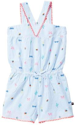 Tommy Hilfiger Ithaca Seersucker Romper (Big Girls)