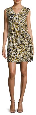 Printed Wrap Dress $238 thestylecure.com