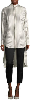 Etro Striped Collar Shirt
