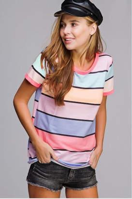 Bibi Stripe Tee Shirt