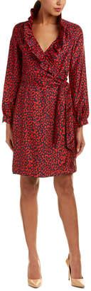 DAY Birger et Mikkelsen Elizabeth McKay Elizabeth Mckay Silk Wrap Dress