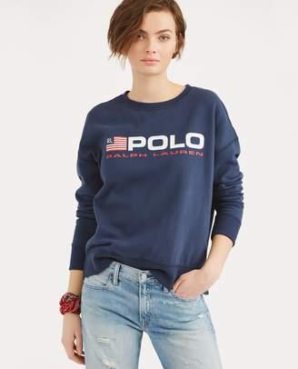 Ralph Lauren Fleece Polo Sweatshirt