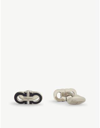 Salvatore Ferragamo Double Gancini cufflinks