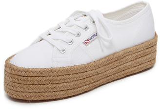 Superga 2790 Platform Espadrille Sneakers $89 thestylecure.com
