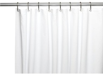 """Carnation Home Fashions Shower Stall-Sized, """"Clean Home"""" Liner in White"""