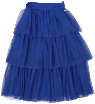 Leitmotiv Stretch Tulle Long Skirt