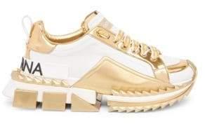 Dolce & Gabbana Metallic Sneakers