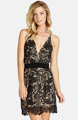 Women's Dress The Population Ava Lace Minidress $208 thestylecure.com