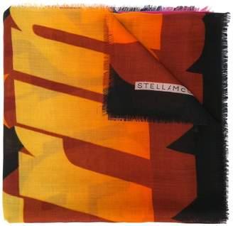 Stella McCartney long printed scarf