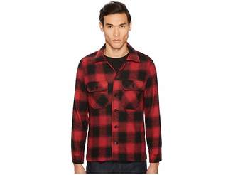 Naked & Famous Denim Nep Buffalo Check Work Shirt Jacket Men's Coat