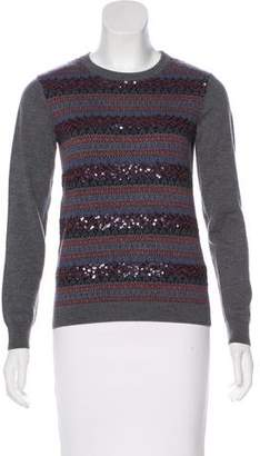 Gryphon Sequined Long Sleeve Sweater