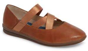 Hush Puppies R) Meree Madrine Cross Strap Flat