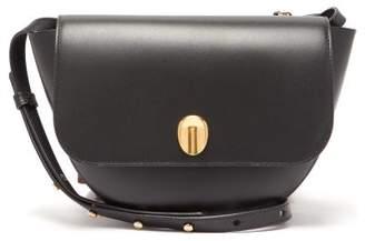 Wandler Billy Fingerprint Clasp Leather Shoulder Bag - Womens - Black