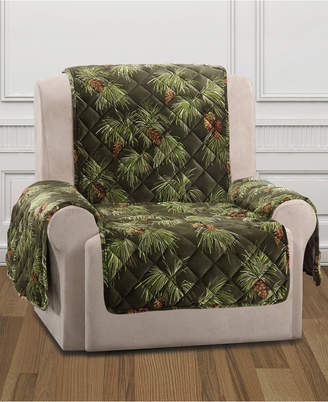 Sure Fit Closeout! Holiday Motifs Quilted Recliner Slipcover