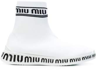 Miu Miu sock trainers